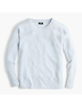 Crewneck Sweater In Waffle Knit Everyday Cashmere by J.Crew