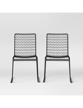 Set Of 2 Oster Wire Dining Chair   Project 62™ by Shop This Collection
