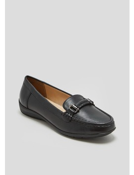 Soleflex Real Leather Snaffle Loafers by Matalan