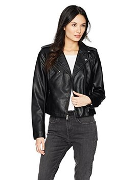 Levi's Women's Faux Leather Classic Asymmetrical Motorcycle Jacket by Levi%27s