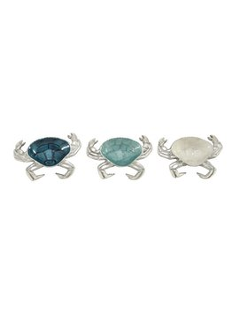 Cole & Grey Aluminum Crab Plate Set by Cole & Grey
