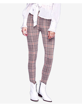 Plaid Skinny Pants by Free People