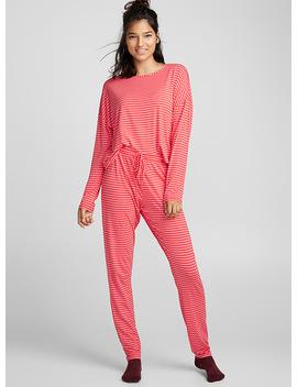 Colourful Stripe Pyjama Set by Miiyu