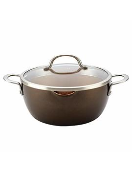 Ayesha Curry 10566 Home Collection Straining Casserole, 5.5 Quart, Brown Sugar by Ayesha Curry