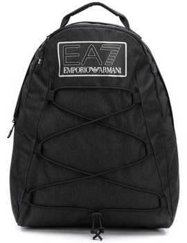Logo Patch Backpack by Ea7 Emporio Armani