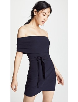 Bonded Crepe Tie Dress by Bec & Bridge
