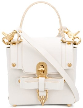 Bow Embellished Mini Tote by Niels Peeraer