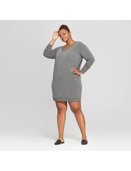 Women's Plus Size Tie Back Dress   Ava & Viv™ by Ava & Viv™