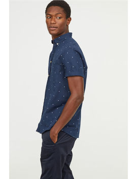 Regular Fit Patterned Shirt by H&M