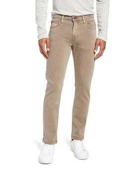 Transcend   Lennox Slim Fit Twill Pants by Paige