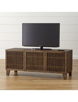 "Marin Shiitake 58"" Media Console by Crate&Barrel"