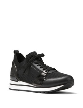 Stripe Knit High Cut Sneakers by Tommy Hilfiger