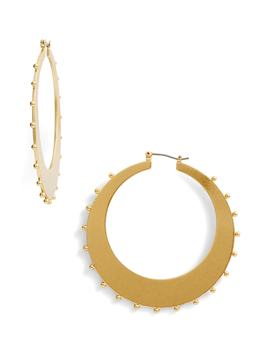 Studded Hoop Earrings by Kate Spade New York