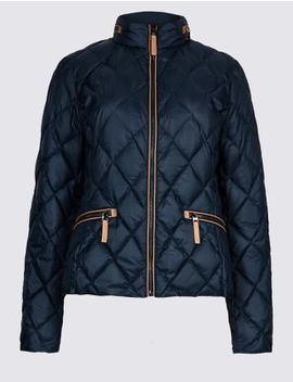 Padded Down & Feather Jacket With Stormwear™ by Marks & Spencer