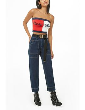 High Waisted Mom Jeans by Forever 21