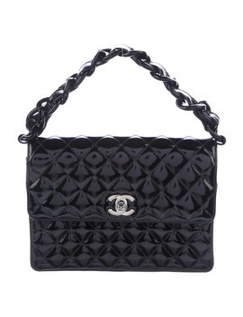 Vintage Patent Flap Bag by Chanel
