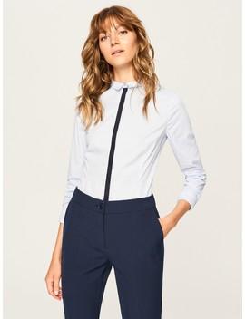 Marškiniai Su Kontrastine Detale by Reserved