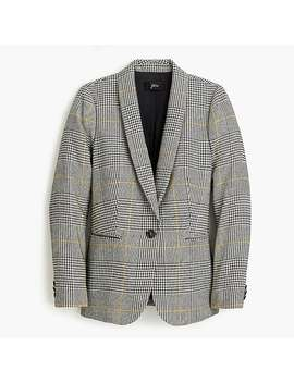 Petite Parke Blazer In Glen Plaid by J.Crew