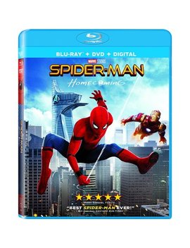 Spider Man: Homecoming (Blu Ray + Dvd + Digital) by Sony