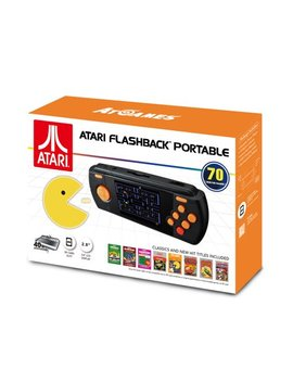 Atari Flashback Portable Game Player, Black, Ap3228 by At Games