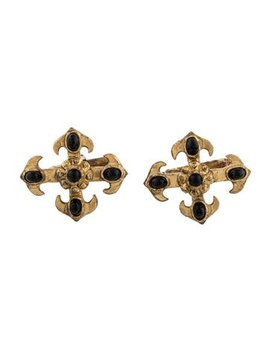 Valentino Resin Cross Cufflinks by Valentino