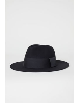 Hat Of Felted Wool by H&M