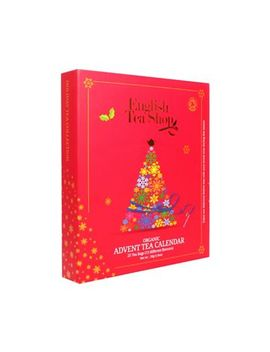 English Tea Shop   Book Style Red Advent Calendar   50g by English Tea Shop