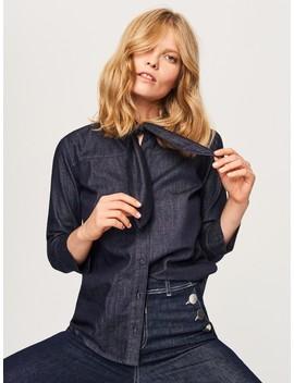 Džinsiniai Surišami Marškiniai by Reserved