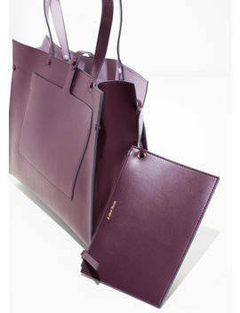 Duo Toned Tote Bag by & Other Stories
