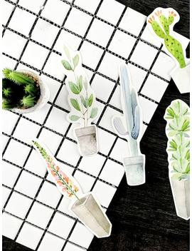 Plant Shaped Bookmark 30pcs by Sheinside