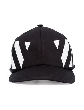 Striped Baseball Cap by Off White