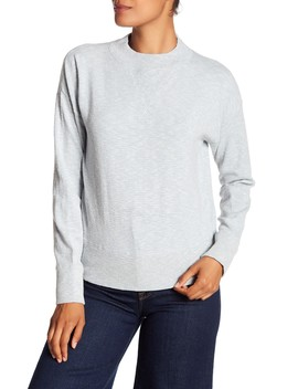 Relaxed Mock Neck Sweater by Madewell