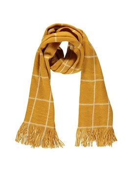 Grid Brush Knit Scarf by Forever 21
