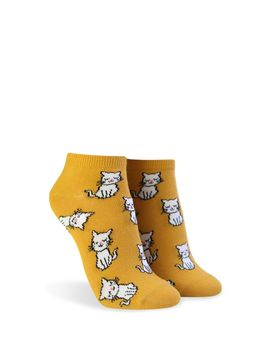 Kitten Graphic Ankle Socks by Forever 21