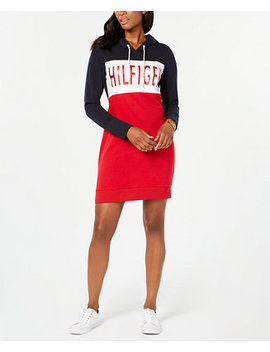 Hooded Sweatshirt Dress, Created For Macy's by Tommy Hilfiger