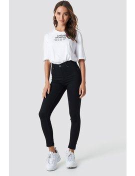 High Spray Black Jeans by Cheap Monday