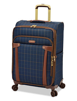 "Brentwood 25"" Softside Expandable Spinner Suitcase, Created For Macy's by London Fog"