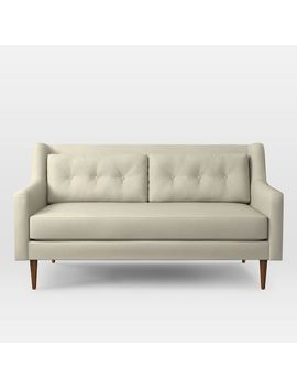 "Crosby Mid Century Loveseat (67"") by West Elm"