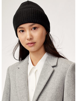 Cashmere Cuff Beanie by Auxiliary