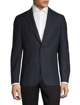 Classic Pinstriped Jacket by Sondergaard