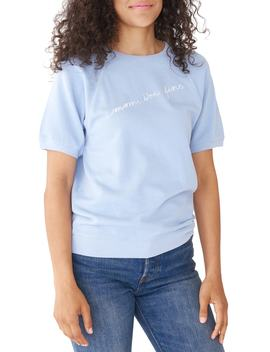 Mom I'm Fine Short Sleeve Pullover by Ban.Do
