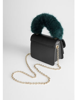 Faux Fur Handle Mini Bag by & Other Stories