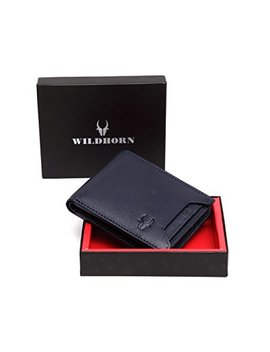 Wild Horn Blue Men's Wallet (Wh1251) by Wild Horn