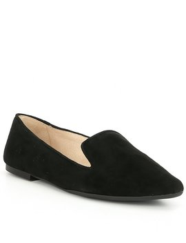 Melbin Suede High Vamp Loafers by Gianni Bini