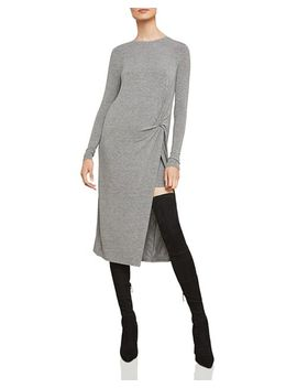 Twist Front Midi Dress by Bcbgmaxazria