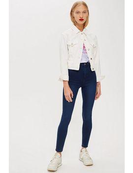 Tall Indigo Joni Jeans by Topshop