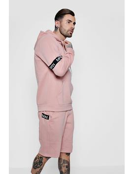 Man Band Over The Head Short Tracksuit by Boohoo