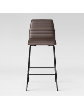 "Salk Modern Quilted 29.625"" Barstool    Project 62™ by Shop Collections"