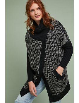 Herringbone Sweater by Moth