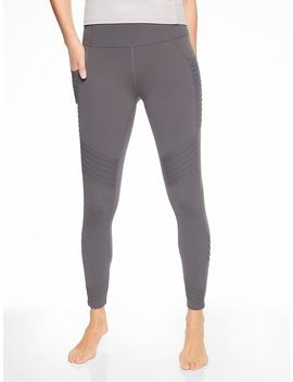 Stash Pocket Moto Tight by Athleta